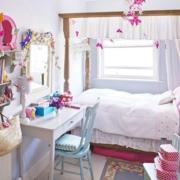 儿童房简约风格梳妆柜装饰