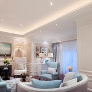 欧式风格奢华客厅沙发装饰