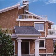 美式简约风格别墅外墙设计