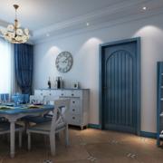 地中海简约风格餐厅飘窗装饰