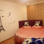 简约素雅婚房卧室
