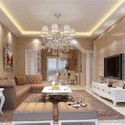 欧式风格客厅吊顶装饰