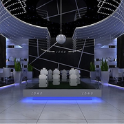后现代风格展厅装饰
