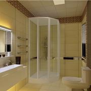 现代简约风格卫生间独立淋浴装饰