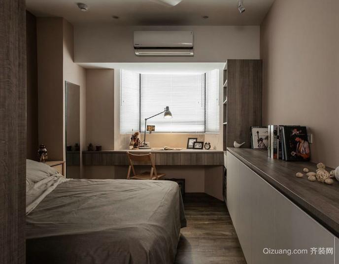 30平米后现代简约卧室装修效果图