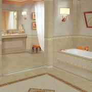 简欧风格奢华卫生间墙饰装饰
