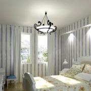 欧式风格卧室石膏板墙饰装饰
