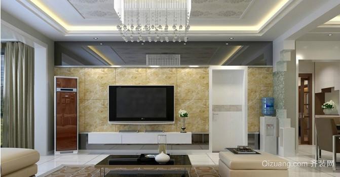欧式客厅吊顶装修效果图