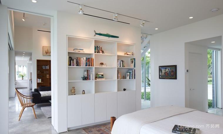 个性清新客厅隔断设计装修效果图