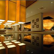 东南亚风格深色系展厅装饰