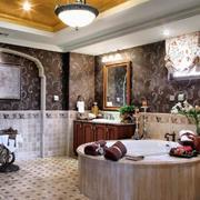 别墅美式现代卫生间