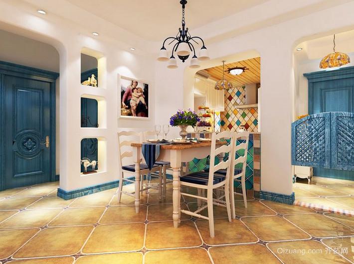 地中海风格餐厅装修图大全