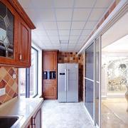 厨房门小户型中式设计