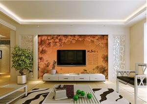 客厅电视墙欧式现代款