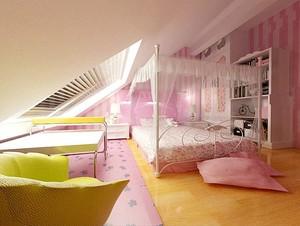 美式别墅儿童房装饰效果图