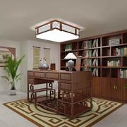 中式风格楼中楼书房装饰