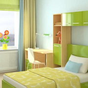 现代清新风格卧室装饰