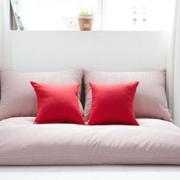 纯色调卧室整体图