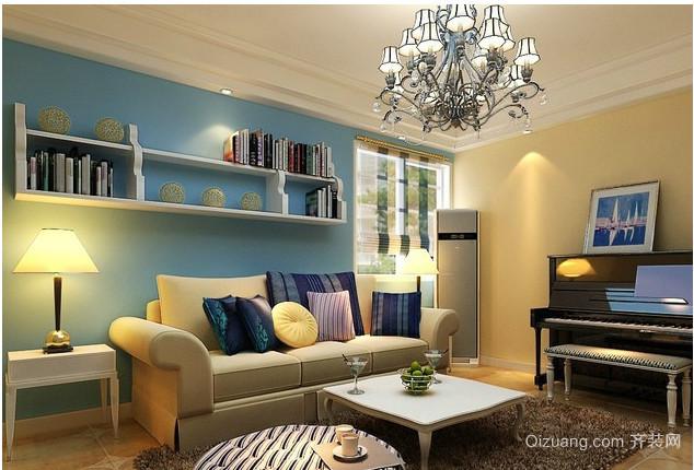 地中海小客厅装修效果图