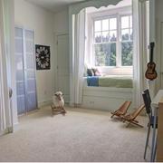 美式儿童房简约飘窗装饰
