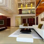 后现代风格客厅沙发背景墙装饰