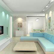 唯美的客厅背景墙设计