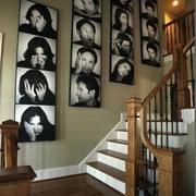客厅形象墙西欧款