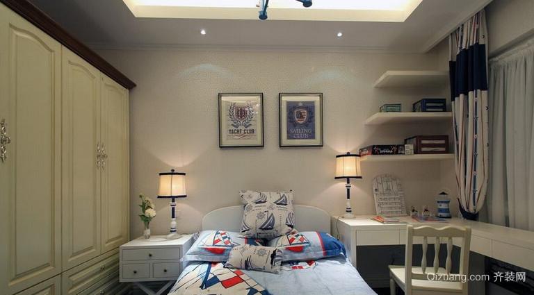 小户型交换空间单身公寓卧室装修效果图