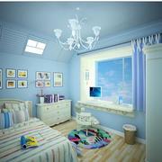 欧式简约风格儿童房奢华灯饰装饰