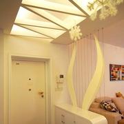 现代风格玄关吊顶装饰