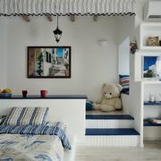 地中海儿童房榻榻米装饰