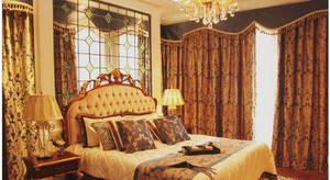 巴洛克卧室飘窗装饰