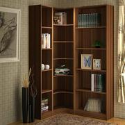 转角书柜中式小户型