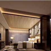 精美的卧室吊顶图