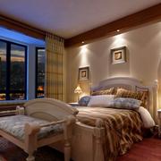 卧室射灯布置展示