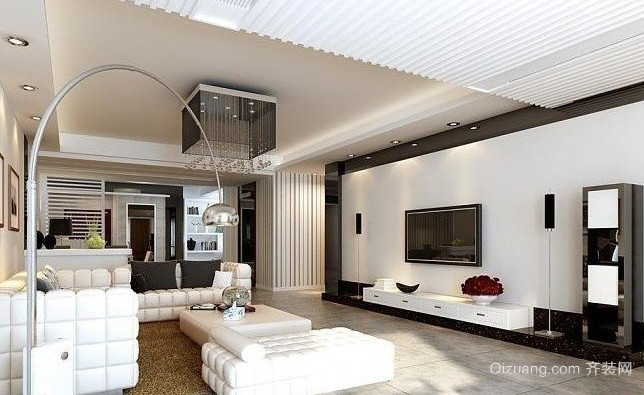 大户型现代客厅装修效果图