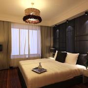 后现代风格卧室飘窗装饰