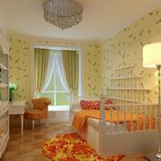 现代简约风格儿童房飘窗装饰