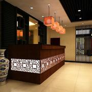 饭店设计背景墙图