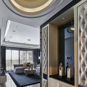 后现代风格客厅玄关装饰