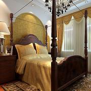 卧室美式床展示