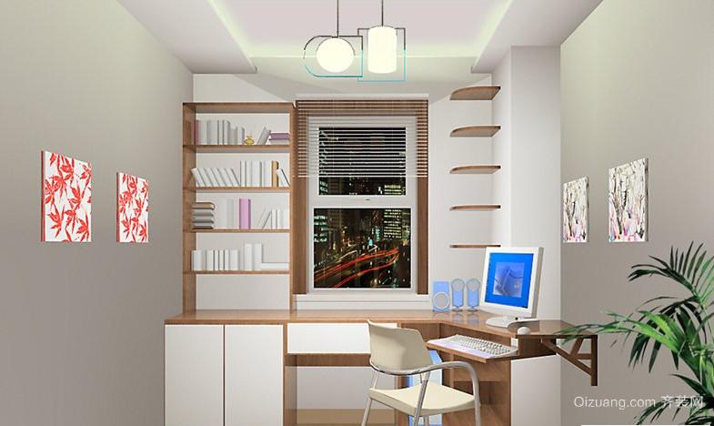 2015小户型书房装修效果图欣赏