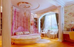 童话乐园大户型美式风格儿童房设计装修效果图