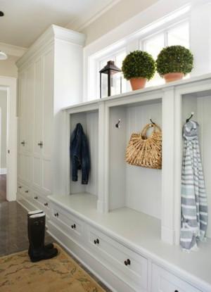 家庭欧式风格鞋柜装修效果图