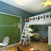 儿童房设计混搭色