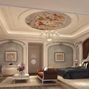 欧式奢华卧室拱门装饰