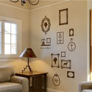 美式简约风格客厅照片墙装饰