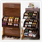 简约风格原木鞋柜装饰