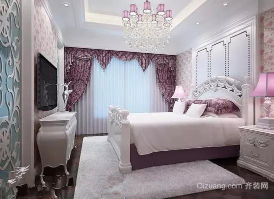 50平米韩式风格卧室装修效果图