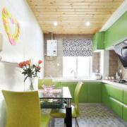 厨房橱柜欧式小清新色款